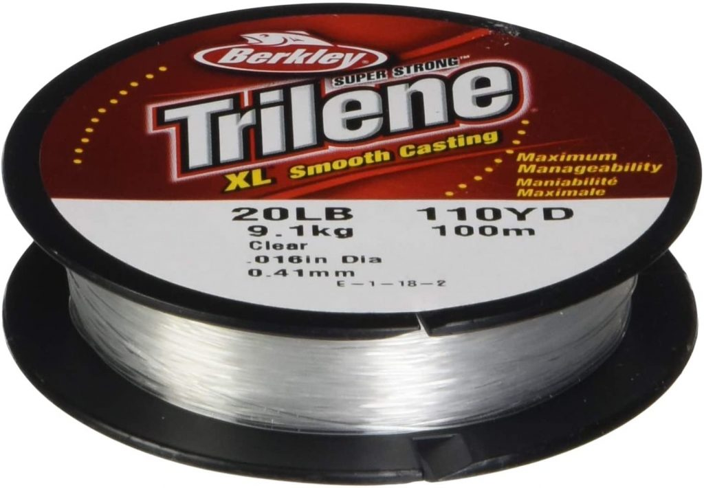 image product of Berkley Trilene XL Monofilament Fishing Line