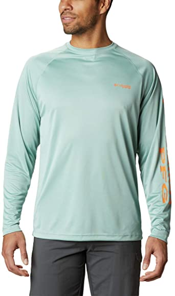 image product of Columbia Men's PFG Terminal Tackle Long Sleeve Shirt