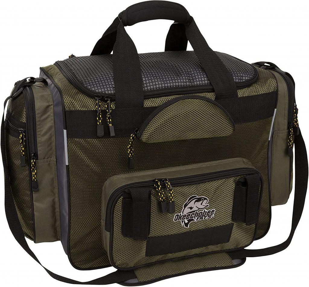 image product of Okeechobee Fats Fisherman Deluxe Tackle Bag