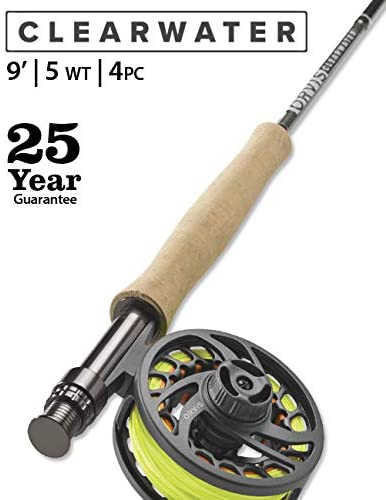 image product of Orvis Clearwater Fly Rod and Reel Combo 5wt 9ft