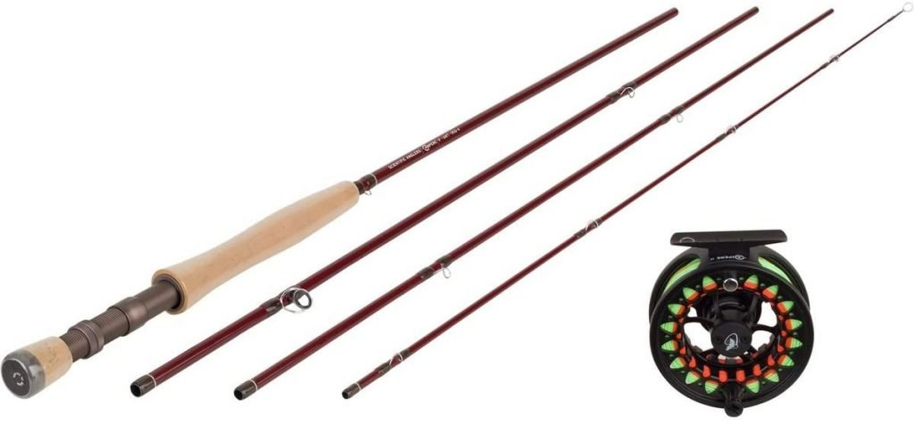 image product of Scientific Anglers Ampere Rod and Reel Fly Fishing Combo
