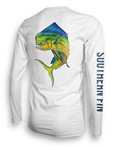 image product of Southern Fin Apparel Long Sleeve Fishing Shirt