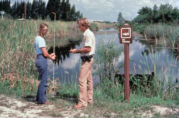 checking fishing license