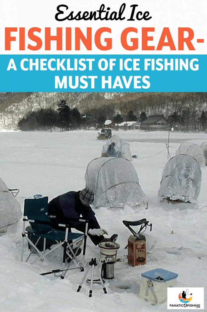 cover image of Essential Ice Fishing Gear
