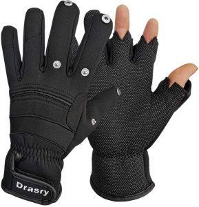 Drasry Neoprene Fishing Gloves